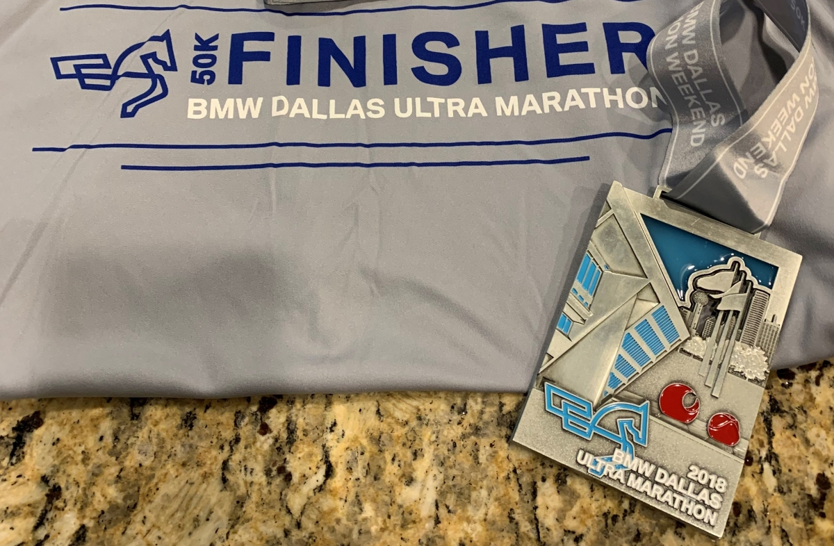 Dallas 50K (not 30 mile) Ultra Marathon Race Report 2018